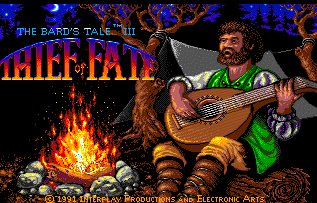 Pantallazo de Bard's Tale III, The: Thief Of Fate para Amiga