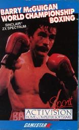 Caratula de Barry McGuigan World Championship Boxing para Spectrum