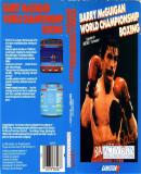 Caratula nº 248237 de Barry McGuigan World Championship Boxing (1533 x 975)
