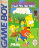 Carátula de Bart Simpson s Escape from Camp Deadly
