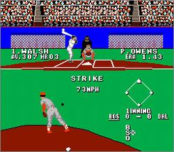Pantallazo de Bases Loaded II: Second Season para Nintendo (NES)