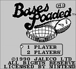 Pantallazo de Bases Loaded for Game Boy para Game Boy