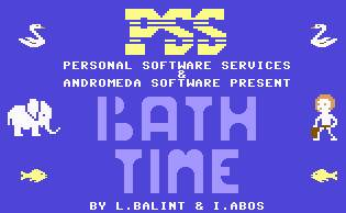 Pantallazo de Bath Time para Commodore 64