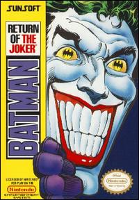 Caratula de Batman: Return of the Joker para Nintendo (NES)