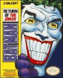 Carátula de Batman: Return of the Joker