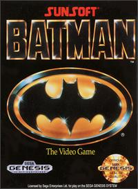 Caratula de Batman: The Video Game para Sega Megadrive