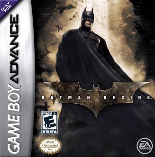 Caratula de Batman Begins para Game Boy Advance
