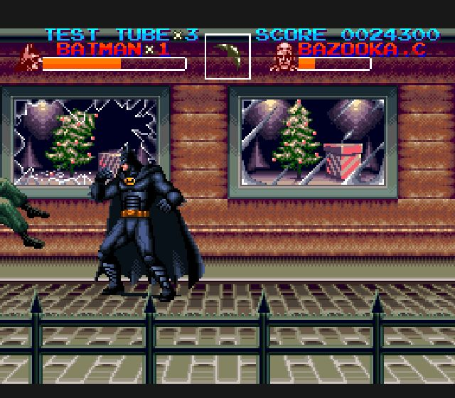 Pantallazo de Batman Returns (Europa) para Super Nintendo