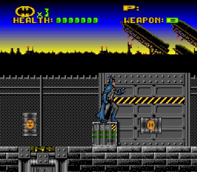 Pantallazo de Batman Revenge of the Joker para Super Nintendo