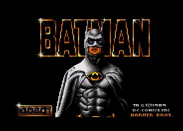 Pantallazo de Batman The Movie, Cartridge para Amstrad CPC