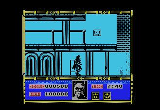 Pantallazo de Batman The Movie para MSX