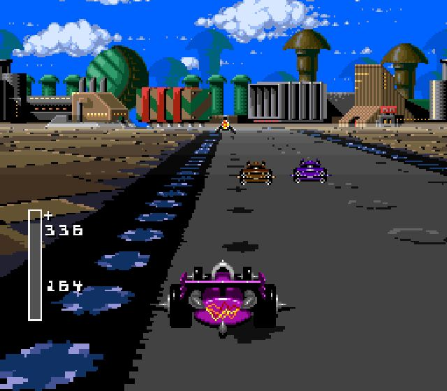 Pantallazo de Battle Cars para Super Nintendo