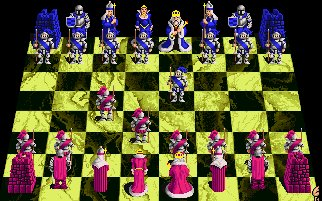 Pantallazo de Battle Chess para Amiga