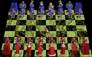 Pantallazo de Battle Chess para Atari ST