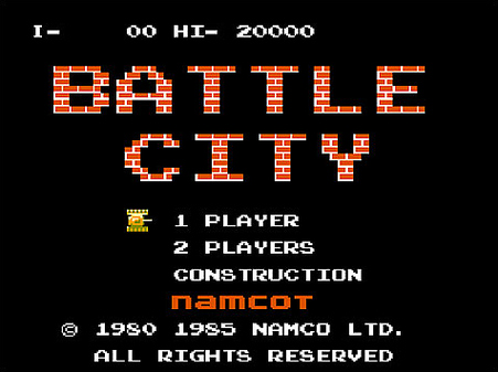 Battle City, el clasico tanquecito del Family