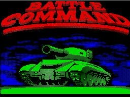 Pantallazo de Battle Command para Spectrum