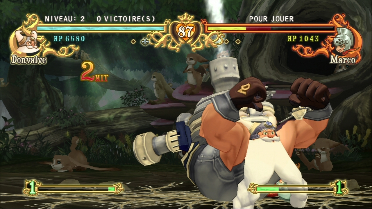 Pantallazo de Battle Fantasia para PlayStation 3
