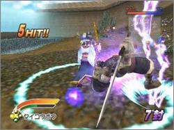 Pantallazo de Battle Houshin para GameCube