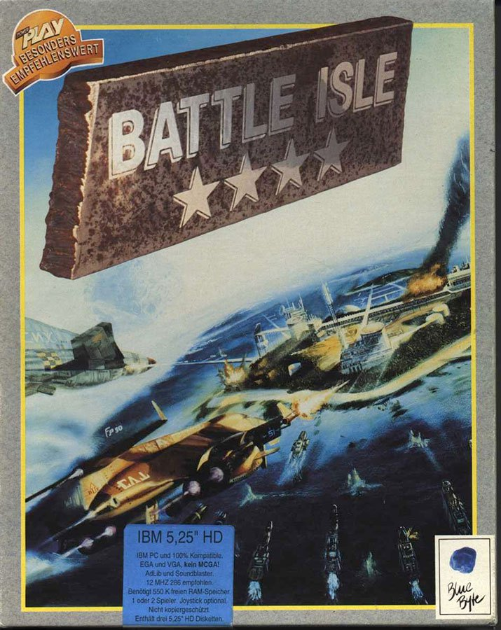 Caratula de Battle Isle para PC