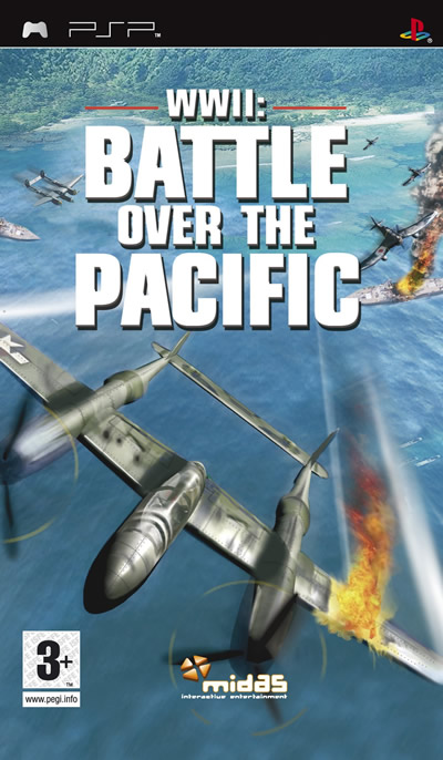 Caratula de Battle Over The Pacific para PSP