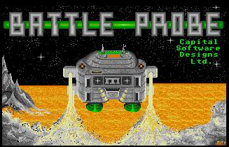 Pantallazo de Battle Probe para Atari ST