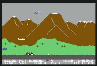 Pantallazo de Battle Through Time para Commodore 64