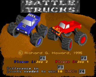 Pantallazo de Battle Trucks para Amiga