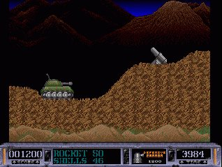 Pantallazo de Battle Valley para Amiga