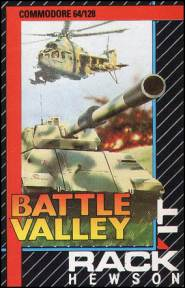 Caratula de Battle Valley para Commodore 64
