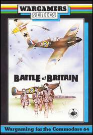 Caratula de Battle of Britain para Commodore 64