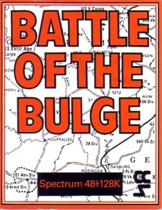 Caratula de Battle of the Bulge para Spectrum