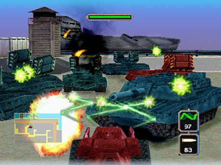 Pantallazo de BattleTanx: Global Assault para Nintendo 64