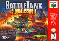 Caratula de BattleTanx: Global Assault para Nintendo 64