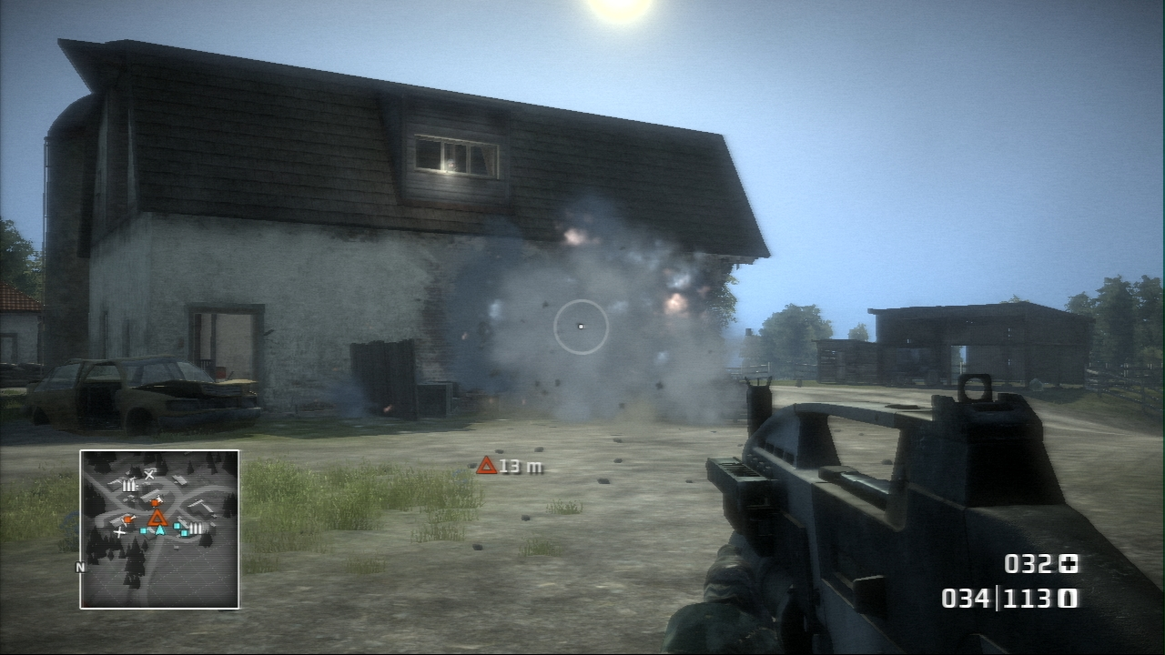 Pantallazo de Battlefield: Bad Company para PlayStation 3