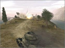 Pantallazo de Battlefield 1942: The Road to Rome para PC