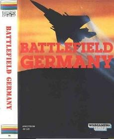 Caratula de Battlefield Germany para Spectrum