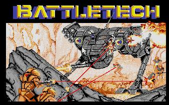Pantallazo de Battletech: The Crescent Hawk's Inception para Atari ST