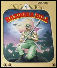 Caratula de Bazooka Bill para Commodore 64
