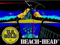 Pantallazo de Beach Head 1 para Spectrum