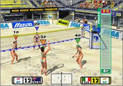 Pantallazo de Beach Spikers para GameCube