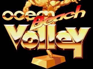 Pantallazo de Beach Volley para Amiga