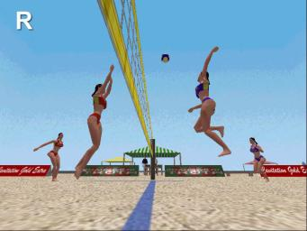 Pantallazo de Beach Volleyball para PC