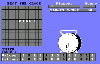 Pantallazo de Beat The Clock para Amstrad CPC