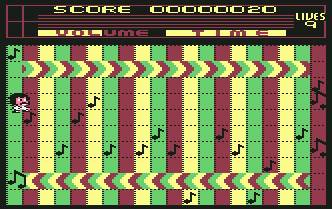 Pantallazo de Beat-It (Jammin II) para Commodore 64