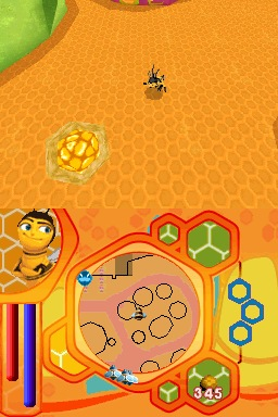 Pantallazo de Bee Movie Game para Nintendo DS