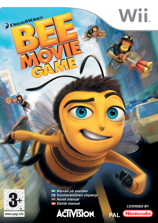 Caratula de Bee Movie Game para Wii