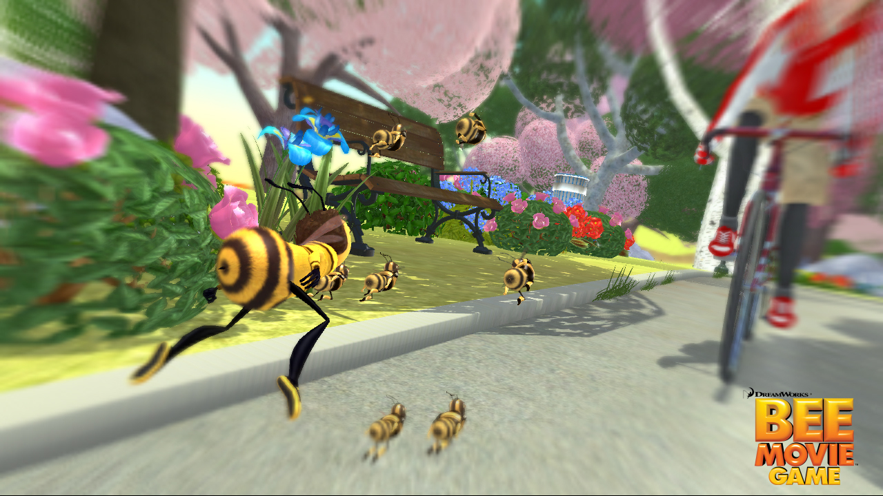 Pantallazo de Bee Movie Game para Xbox 360