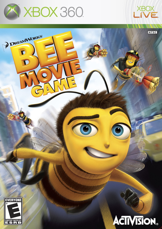 Caratula de Bee Movie Game para Xbox 360