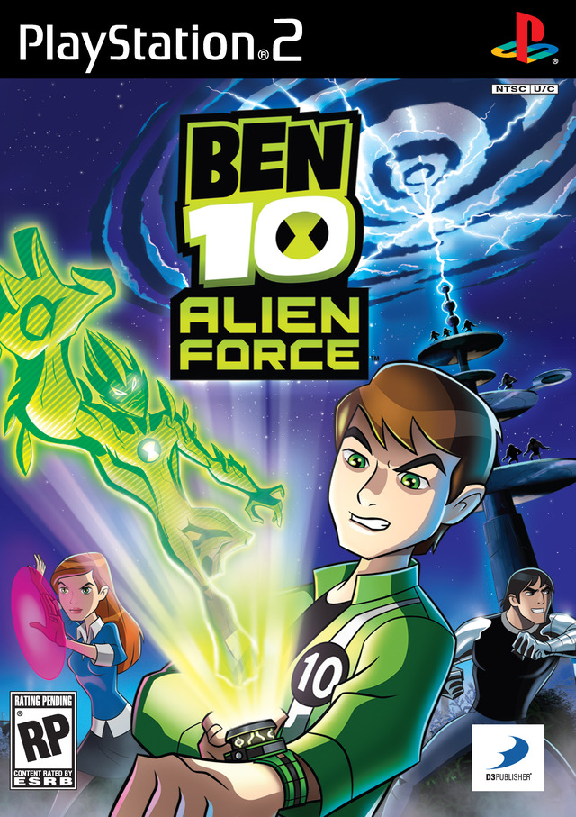 Caratula de Ben 10: Alien Force para PlayStation 2