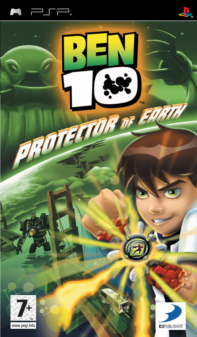 Caratula de Ben 10: Protector Of Earth para PSP